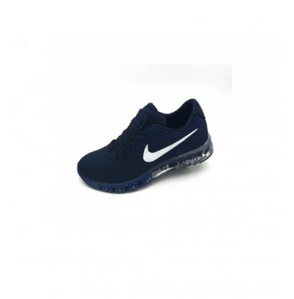 Nike Air Max Bleumarin-Alb