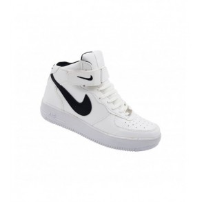 GHETE NIKE AIR FORCE ALB-NEGRU