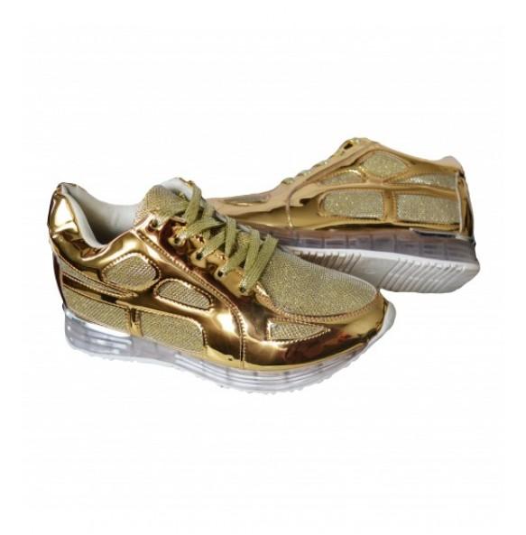 1+1 GRATIS  Adidasi Dama Cod A19 Gold