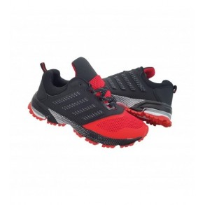 Adidasi Spira Negru/ARosu Cod 47