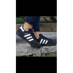 Adidas Super Star Negru-Alb