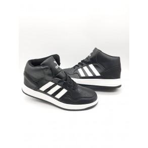 Ghete Adidas  Top Ten Negru/Alb Cod 49