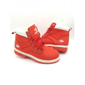 1+1 GRATIS  GHETE ADIDAS URBAN IMBLANITE RED COD 131