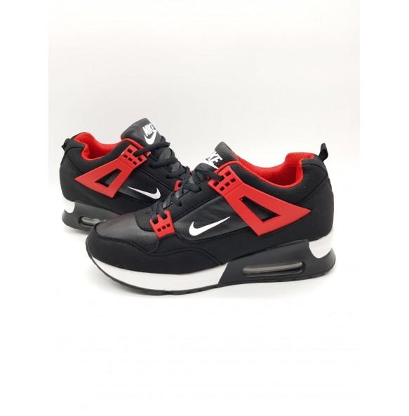 1+1 GRATIS  Adidasi Nike Venus Negru-Rosu COD 16