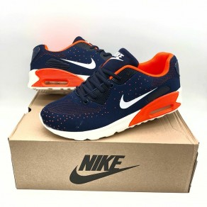 NIKE AIR MAX PREMIER NAVY/ORANGE